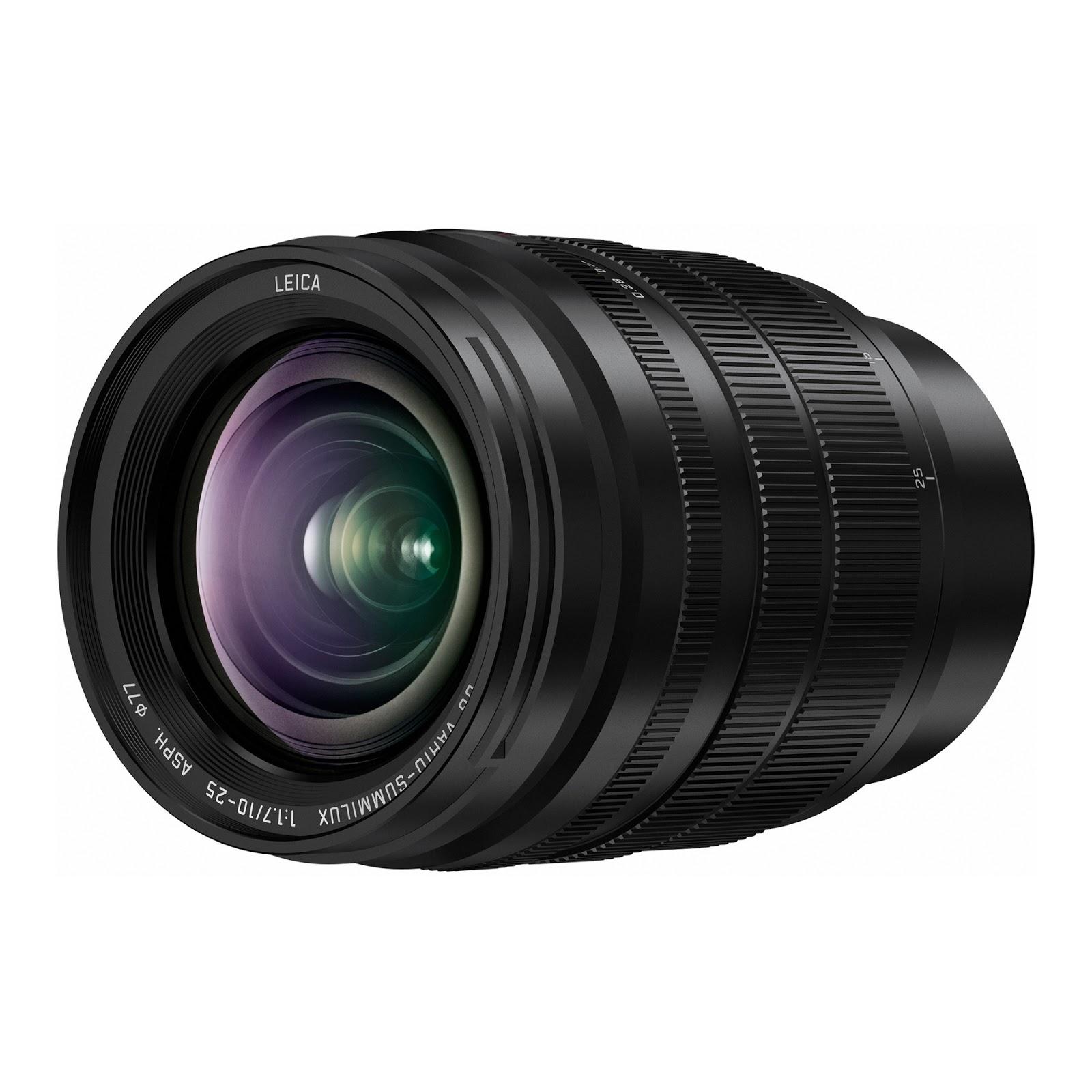 Panasonic Leica 10-25mm f/1.7 ASPH MFT Lens Officially Announced