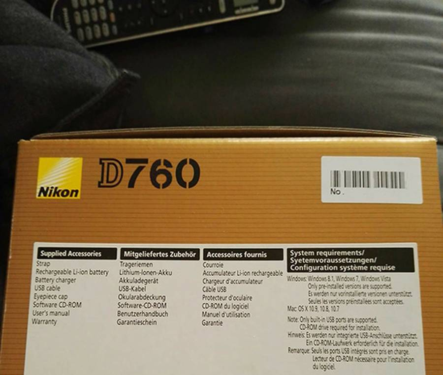New Nikon D760 Rumored Specifications