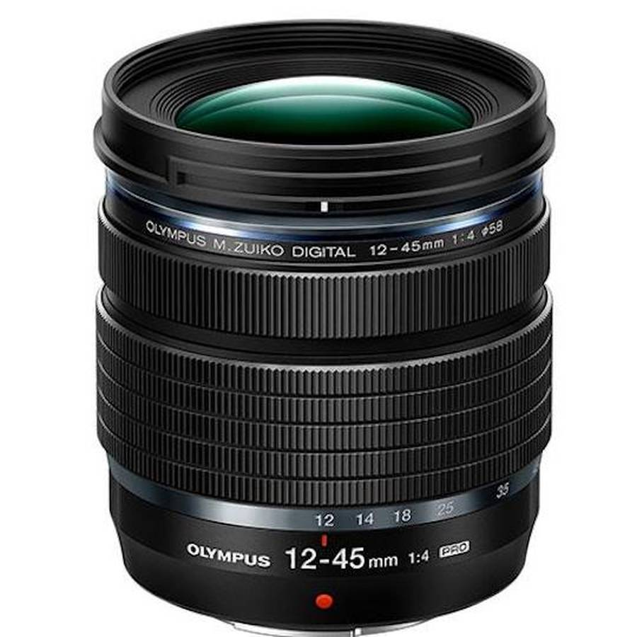 The ultimate compact, lightweight, high-resolution M.Zuiko® pro lens: M.Zuiko Digital ED 12-45mm F4.0 PRO