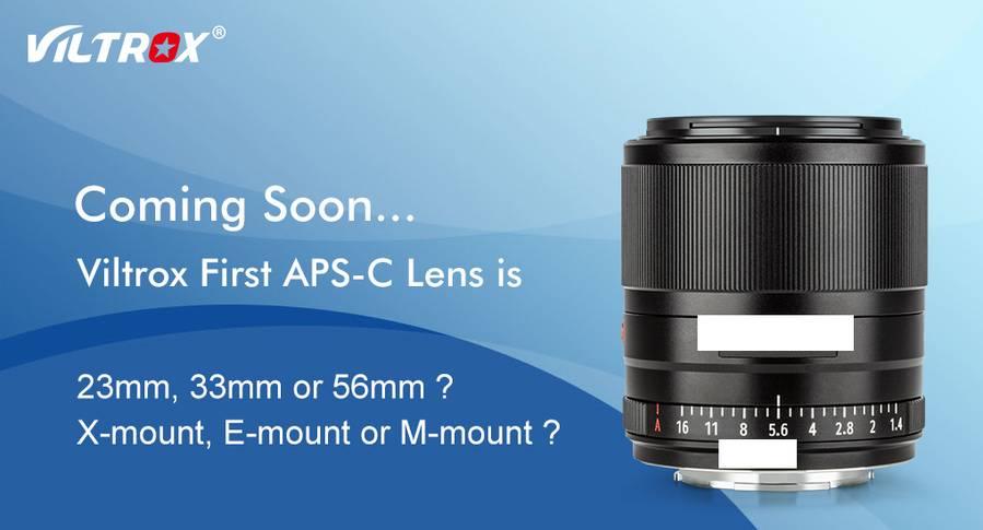 Viltrox Af 33mm F  1 4 Lens For Aps-c Mirrorless Cameras Coming Soon