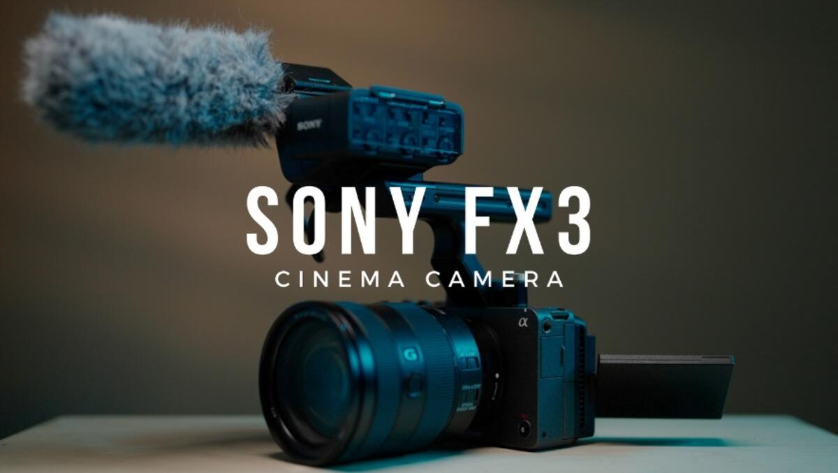 Sony FX3 Firmware Update Version 1.01 Now Available for Download