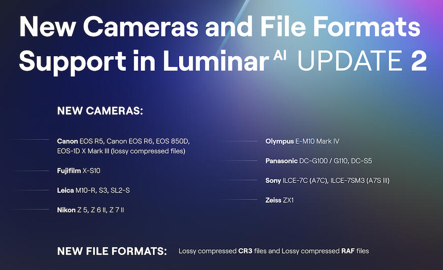 Skylum Luminar AI Update 2 Released with a Huge Discount