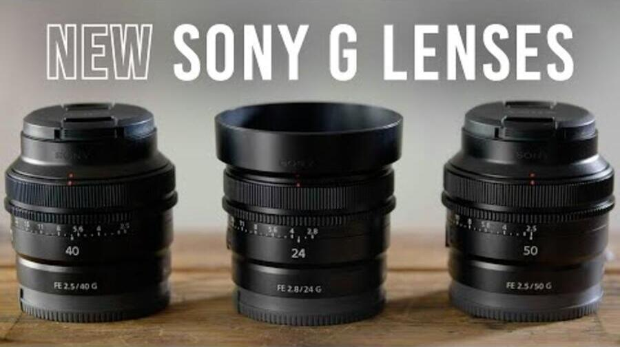 Official : Sony FE 50mm f/2.5 G, FE 40mm f/2.5 G, and FE 24mm f/2.8 G Lenses