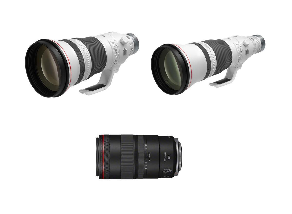 It's Official : Canon RF 100mm f/2.8L Macro, RF 400mm f/2.8L & RF 600mm f/4L IS USM Lenses