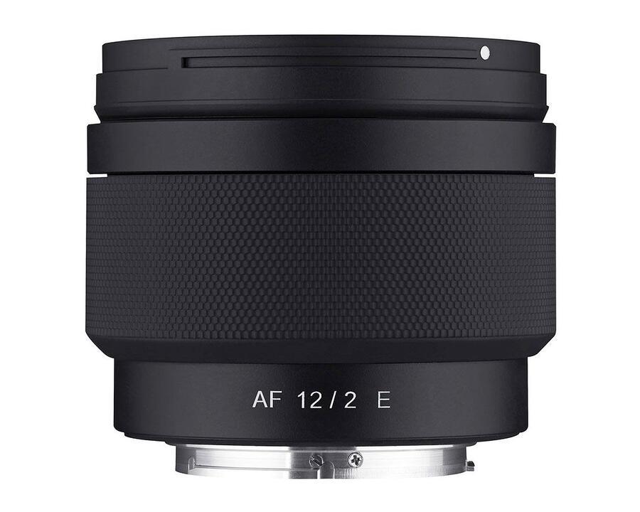Samyang AF 12mm f/2.0 E APS-C lens Announced for Sony E-mount